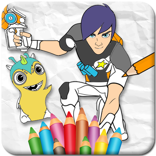 Slug it Out Coloring Game  (Unlimited money,Mod) for Android