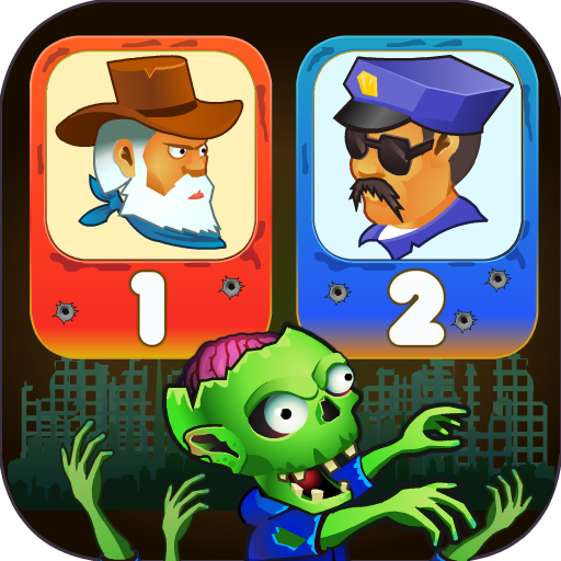Two guys & Zombies (two-player game)  (Unlimited  money,Mod) for Android 1.1.8