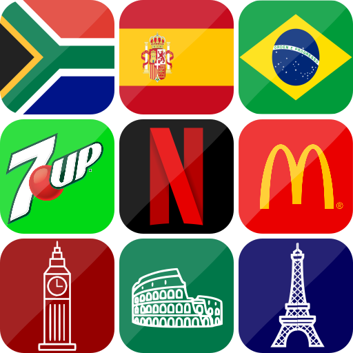 3in1 Quiz : Logo – Flag – Capital  (Unlimited money,Mod) for Android