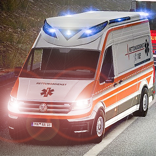 911 Emergency Ambulance Simulation  (Unlimited money,Mod) for Android