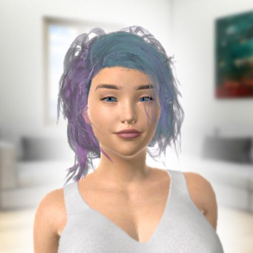 Alyssa – Virtual & AR Talking Girl Simulator  (Unlimited money,Mod) for Android