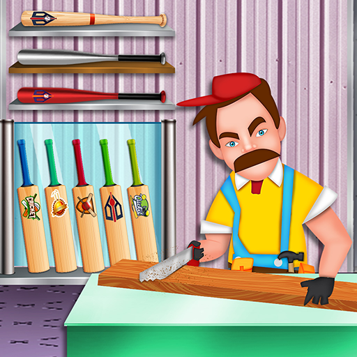 Baseball & Cricket Bat Factory: Wood Craft Maker  (Unlimited money,Mod) for Android