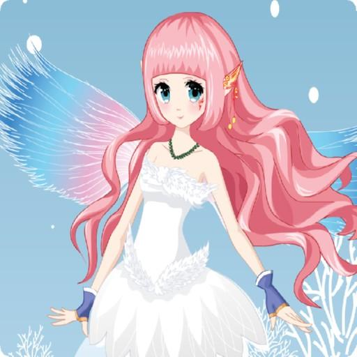 Beautiful winter snow fairy  (Unlimited money,Mod) for Android