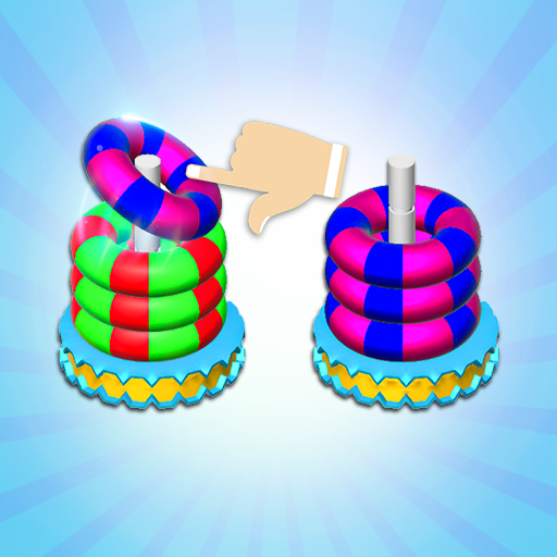 Bubble sort it games 3d-Hoop stacks new games 2020  (Unlimited money,Mod) for Android