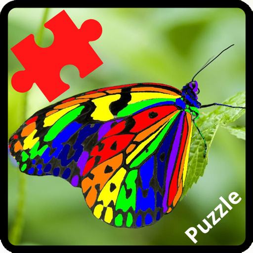 Butterfly Puzzle Jigsaw (Rompecabezas de mariposa)  (Unlimited money,Mod) for Android