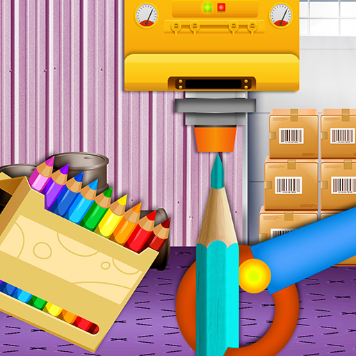 Color Pencil Maker Factory: Craft Colorful Pen  (Unlimited money,Mod) for Android