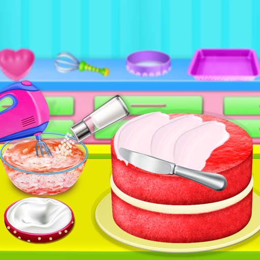 Cooking Red Velvet Cake in Kitchen: World Recipes  (Unlimited money,Mod) for Android