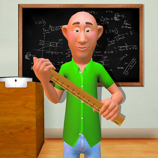 Crazy Teacher of Math in School Education Learning  (Unlimited money,Mod) for Android