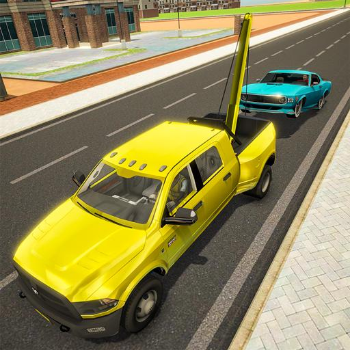 Crazy Tow truck 2020: 3D Euro Driving Simulator  (Unlimited money,Mod) for Android