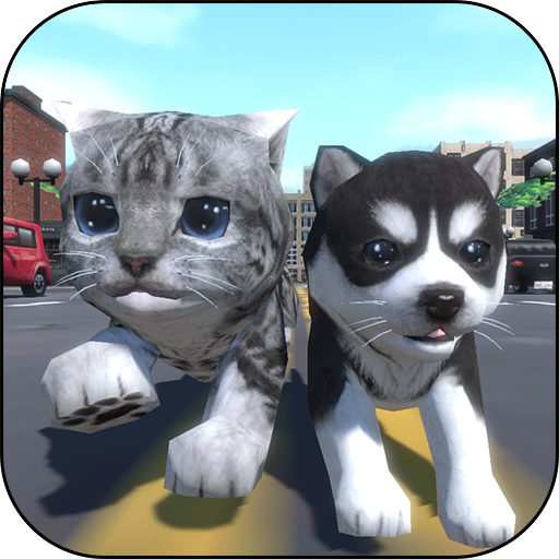 Cute Pocket Cat And Puppy 3D  (Unlimited money,Mod) for Android