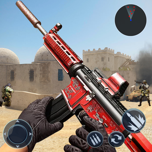 Encounter Terrorist Strike: FPS Gun Shooting 2020  (Unlimited money,Mod) for Android