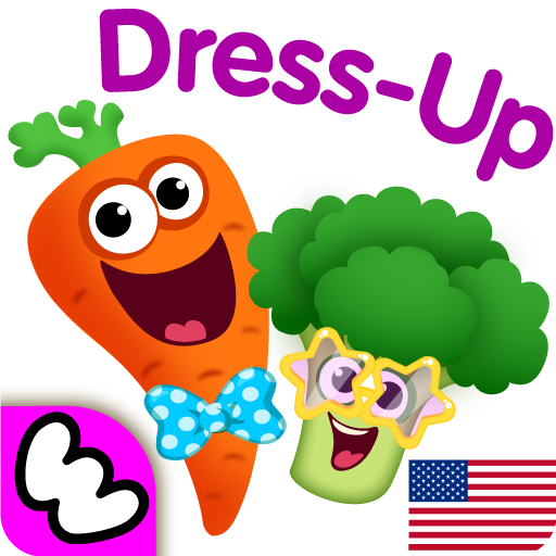 Funny Food DRESS UP games for toddlers and kids!😎  (Unlimited money,Mod) for Android