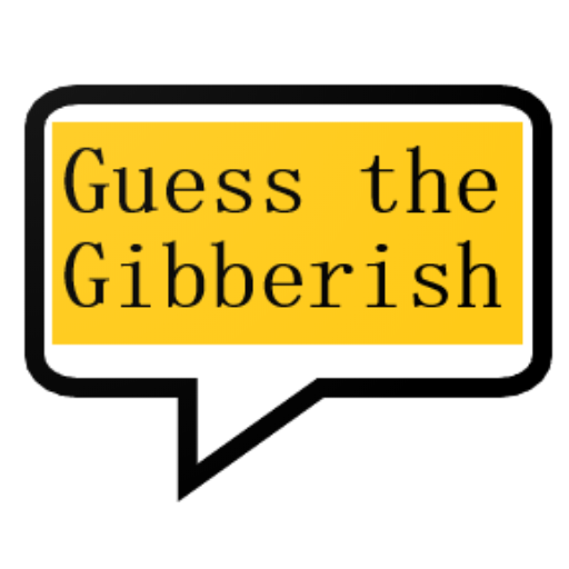 Guess the gibberish game – word games / challenge  1.36 (Unlimited money,Mod) for Android