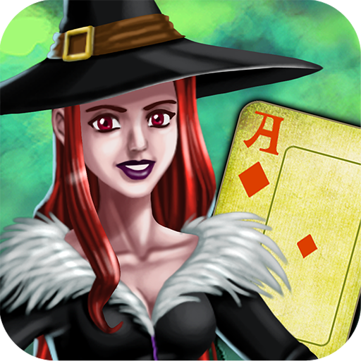 Halloween Tri-peaks Solitaire  (Unlimited money,Mod) for Android
