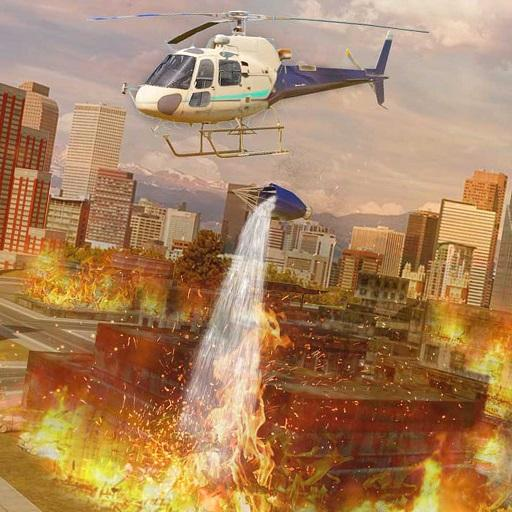 Heli Ambulance Rescue Team 3D Helicopter Simulator  (Unlimited money,Mod) for Android