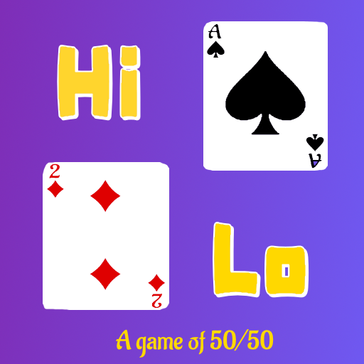HiLo – A Game of 50/50  (Unlimited money,Mod) for Android