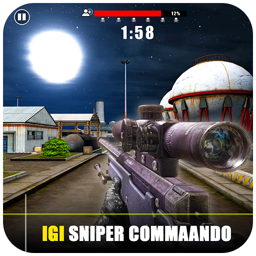 IGI Sniper Commando – New Gun Shooting Game 2020  (Unlimited money,Mod) for Android