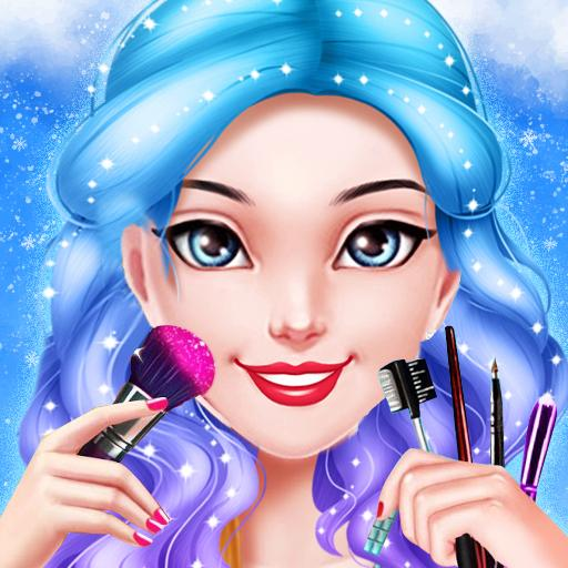 Ice Princess Makeup Salon Games For Girls  (Unlimited money,Mod) for Android