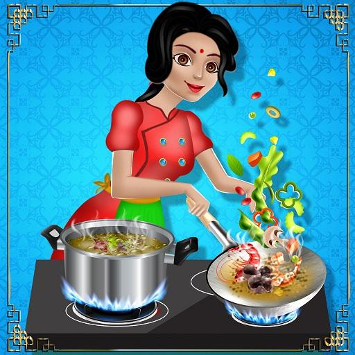 Indian Food Cooking Restaurant   (Unlimited money,Mod) for Android