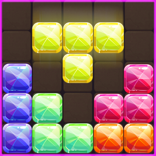 Jewel Block Puzzle Match  (Unlimited money,Mod) for Android