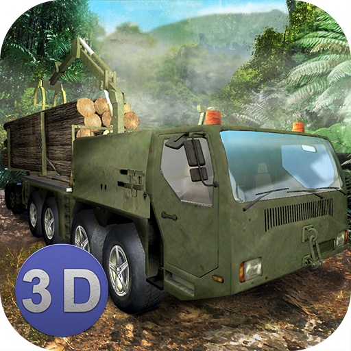 Jungle Logging Truck Simulator  (Unlimited money,Mod) for Android