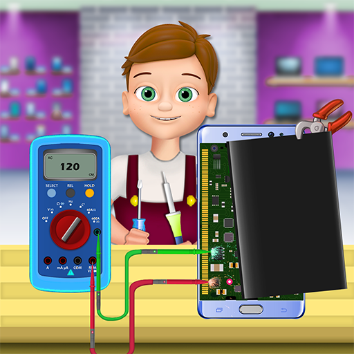 Laptop & Mobile Repair Shop  (Unlimited money,Mod) for Android