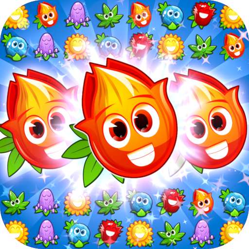 Match 3 game – blossom flowers  (Unlimited money,Mod) for Android