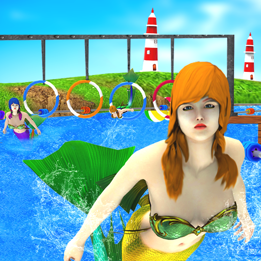 Mermaid Race 2020: Real Mermaid Simulator Games 3d  (Unlimited money,Mod) for Android