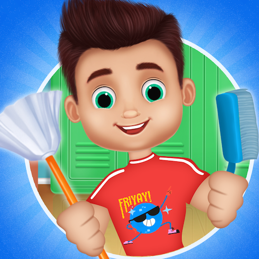 Messy School Cleaning – Bus classroom cleanup  (Unlimited money,Mod) for Android