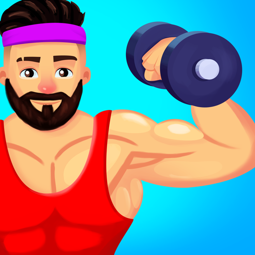 Muscle Workout Clicker- Bodybuilding game  (Unlimited money,Mod) for Android