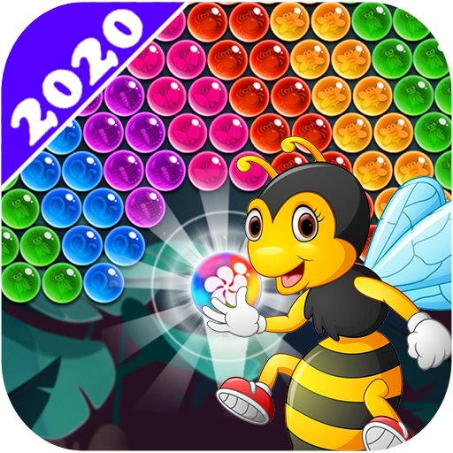 New Bubble Shooter Adventure Bee Bubble  (Unlimited money,Mod) for Android