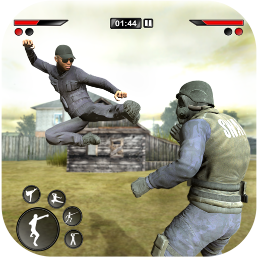 New kung Fu karate: Army Battlefield Fighting Game  (Unlimited money,Mod) for Android