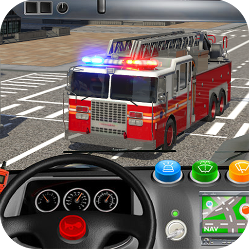 NewYork Rescue Firefighter Emergency truck sim2019  (Unlimited money,Mod) for Android
