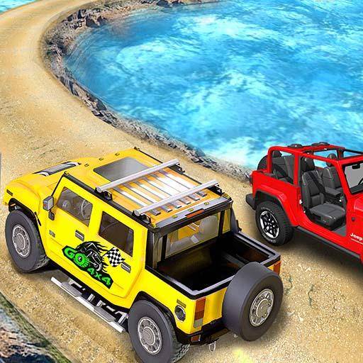 Offroad Jeep Driving Stunt 3D : Real Jeep Games  (Unlimited money,Mod) for Android