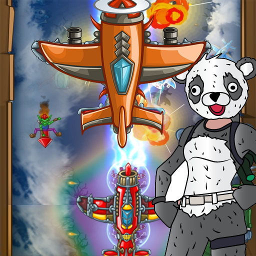 PANDA FIGHTER PLANE: AIR COMBAT 2020 GAMES  (Unlimited money,Mod) for Android