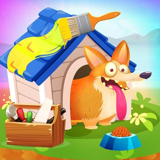 Pet Dream House Maker: Home Decoration & Makeover  (Unlimited money,Mod) for Android