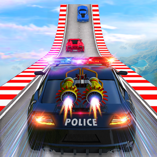 Police Car Chase GT Racing Stunt: Ramp Car Games  (Unlimited money,Mod) for Android