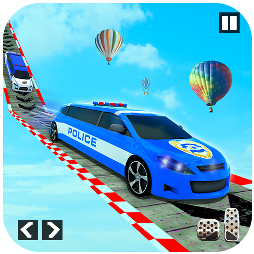 Police Limo Car Stunts – Mega Ramp Car Racing Game  (Unlimited money,Mod) for Android