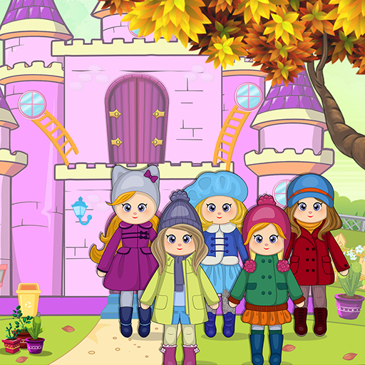 Pretend Play Doll House: Town Family Mansion Fun  (Unlimited money,Mod) for Android