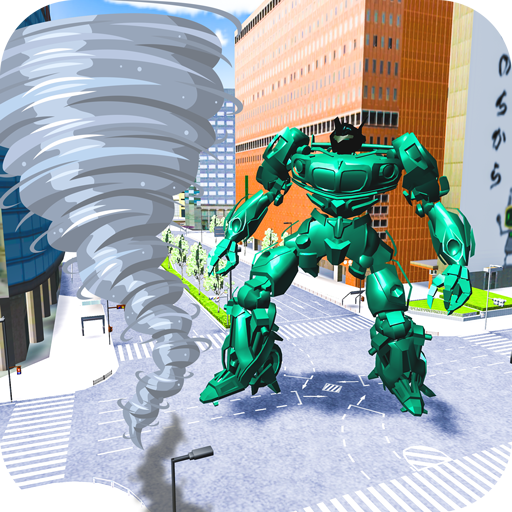 Robot Futuristic Tornado:Robot Transformation 2020  (Unlimited money,Mod) for Android