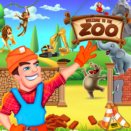 Safari Zoo Builder: Animal House Designer & Maker  (Unlimited money,Mod) for Android