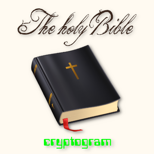 The Holy Bible in Cryptogram  (Unlimited money,Mod) for Android