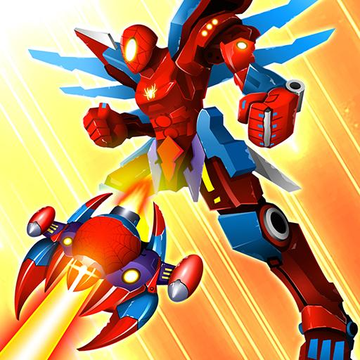 Thunder Fighter Superhero: Strikers Shoot 'Em Up  (Unlimited money,Mod) for Android