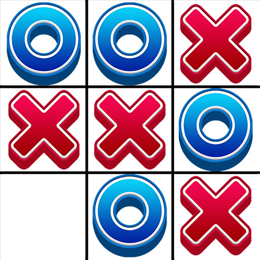 Tic Tac Toe 2 player games, tip toe 3d tic tac toe  (Unlimited money,Mod) for Android