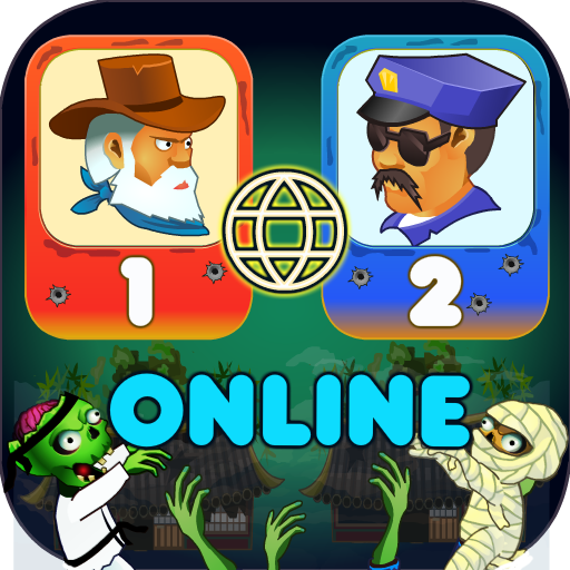 Two guys & Zombies (online game with friend)  (Unlimited money,Mod) for Android