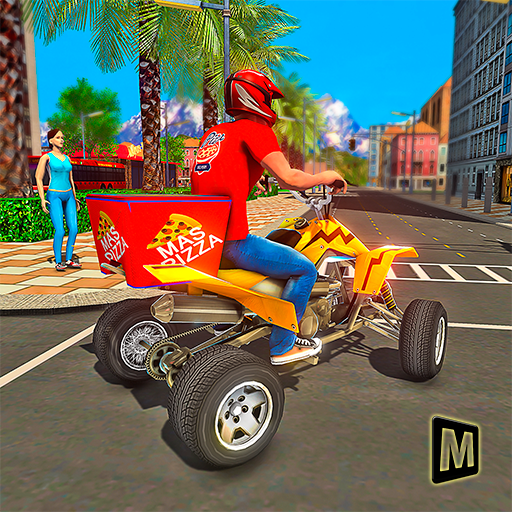 ATV Pizza Delivery Boy  (Unlimited money,Mod) for Android 1.1