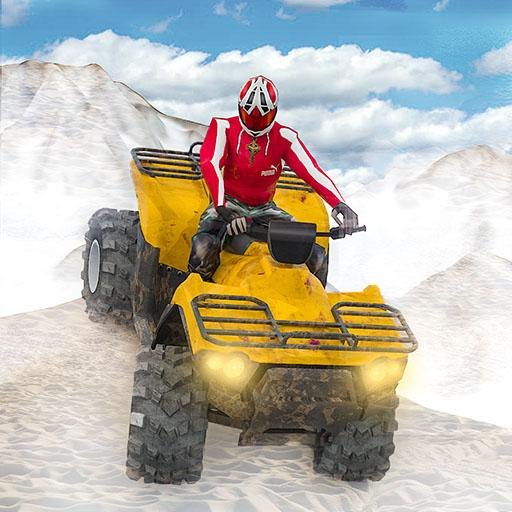 ATV Quad Derby Racing: Snow Trials Bike Xtreme  (Unlimited money,Mod) for Android 1.3