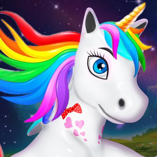 Unicorn Wild Life Fun: Pony Horse Simulator Games  1.4.6 (Unlimited money,Mod) for Android