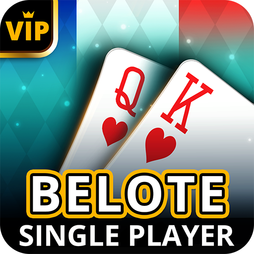Belote Offline – Single Player Card Game  (Unlimited money,Mod) for Android 3.7.2.45