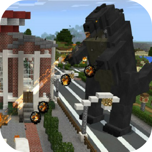 Big Godzilla Mod for MCPE  (Unlimited money,Mod) for Android 4.3
